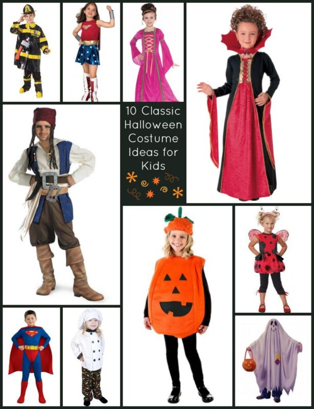 10 Classic Halloween Costume Ideas for Kids | eBay