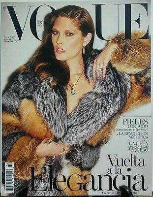 Vogue Espana Nov 2015 Catherine McNeil Vuelta a la Elegancia FREE SHIPPING sb