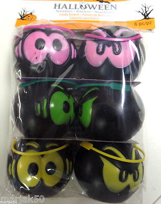 Halloween Candy Baskets (HALLOWEEN CANDY BASKETS ASSORTED COLORS SET OF SIX -2 1/2