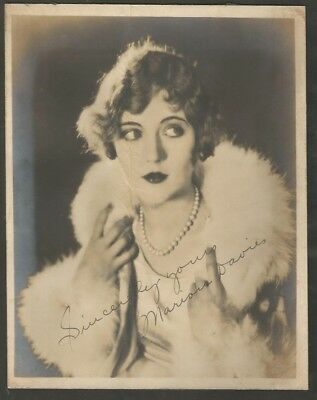 Real Photo Marion Davies USA Actress Original Signed