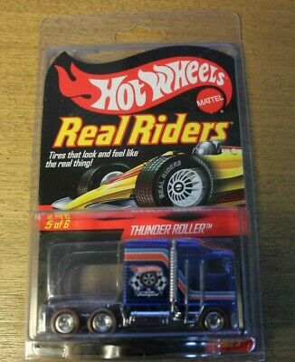 Hot Wheels RLC Real Riders Series 9 Thunder Roller  #3693/5000