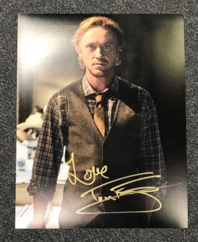 The Flash Tom Felton Autographed Signed 11x14 Photo COA