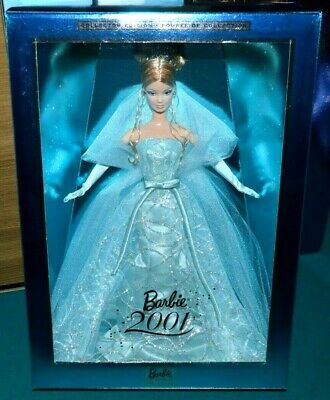 NIB-2001 BARBIE DOLL- NEW YEARS EVE COLLECTORS EDITION-CROWN & DIAMOND EARRINGS!](New Years Eve Crowns)
