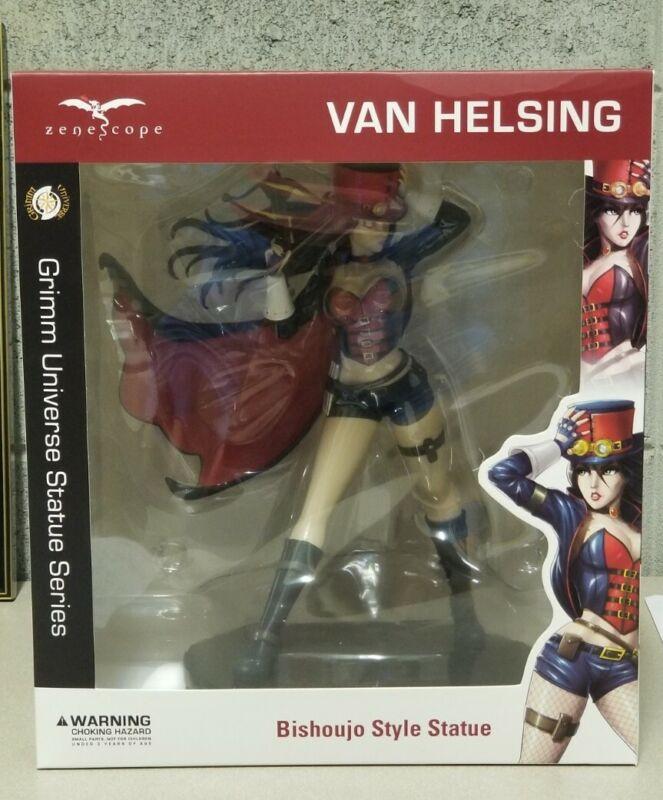 Zenescope Van Helsing Bishoujo Statue Kickstarter NIB Grimm Fairy Tales