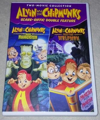 Alvin and the Chipmunks Scare-Riffic Double Feature dvd - Alvin And The Chipmunks Halloween Movie