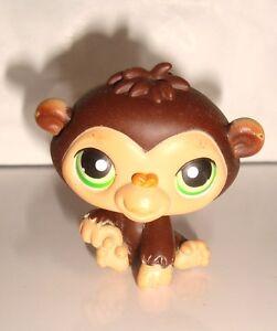 Figurine figur petshop littlest petshop singe monkey bebe - Petshop singe ...