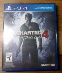 Uncharted 4 (Jeu PS4) - Comme neuf