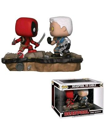 Cable Vs Deadpool (Funko Pop! Marvel Comic Moments Deadpool Vs. Cable #318, New Vinyl Action)
