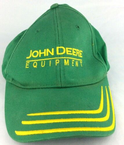 John Deere Promotional Hat Unlease The Power MPC Promotions Accent Lines