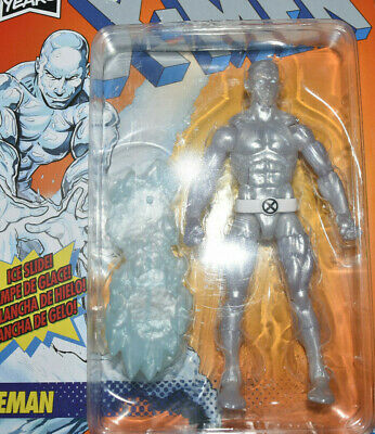 "Marvel Legends Retro Series: X-Men Iceman 6"" Action Figure - 80th Anniversary"