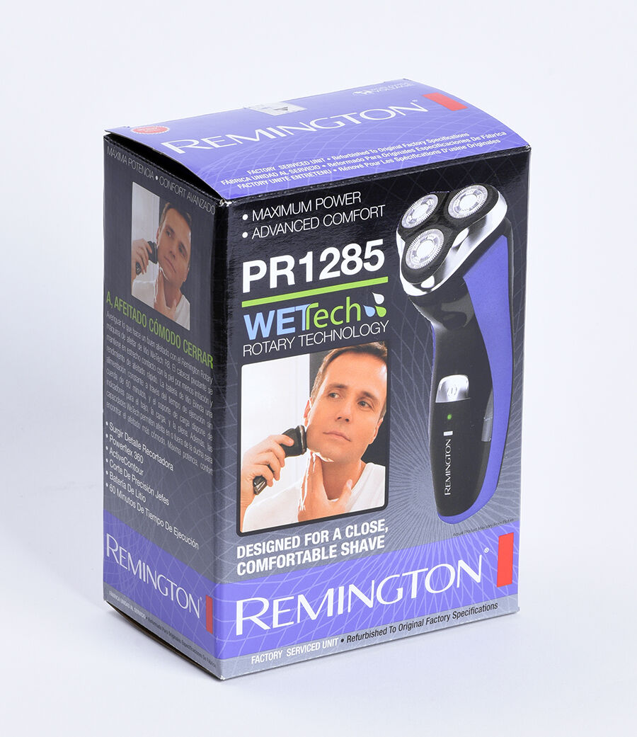 Remington PR1285A R8 Wet & Dry Rotary Shaver, Men's Electric