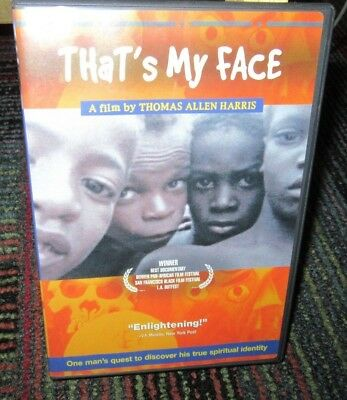 THAT'S MY FACE DVD DOCUMENTARY, JOURNEY OF SELF-DISCOVERY, THOMAS ALLEN (Find That Face)