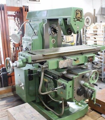 Milling Machine 13 X 52 Hor. Universal. New Xyz Power Rapids Tooling