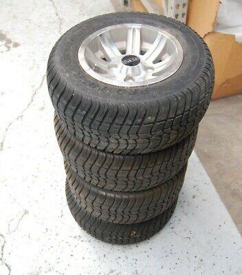 "Set of (4) OEM Club Car Champion 10"" Alloy Wheels w/ Tires fits any Golf Carts"