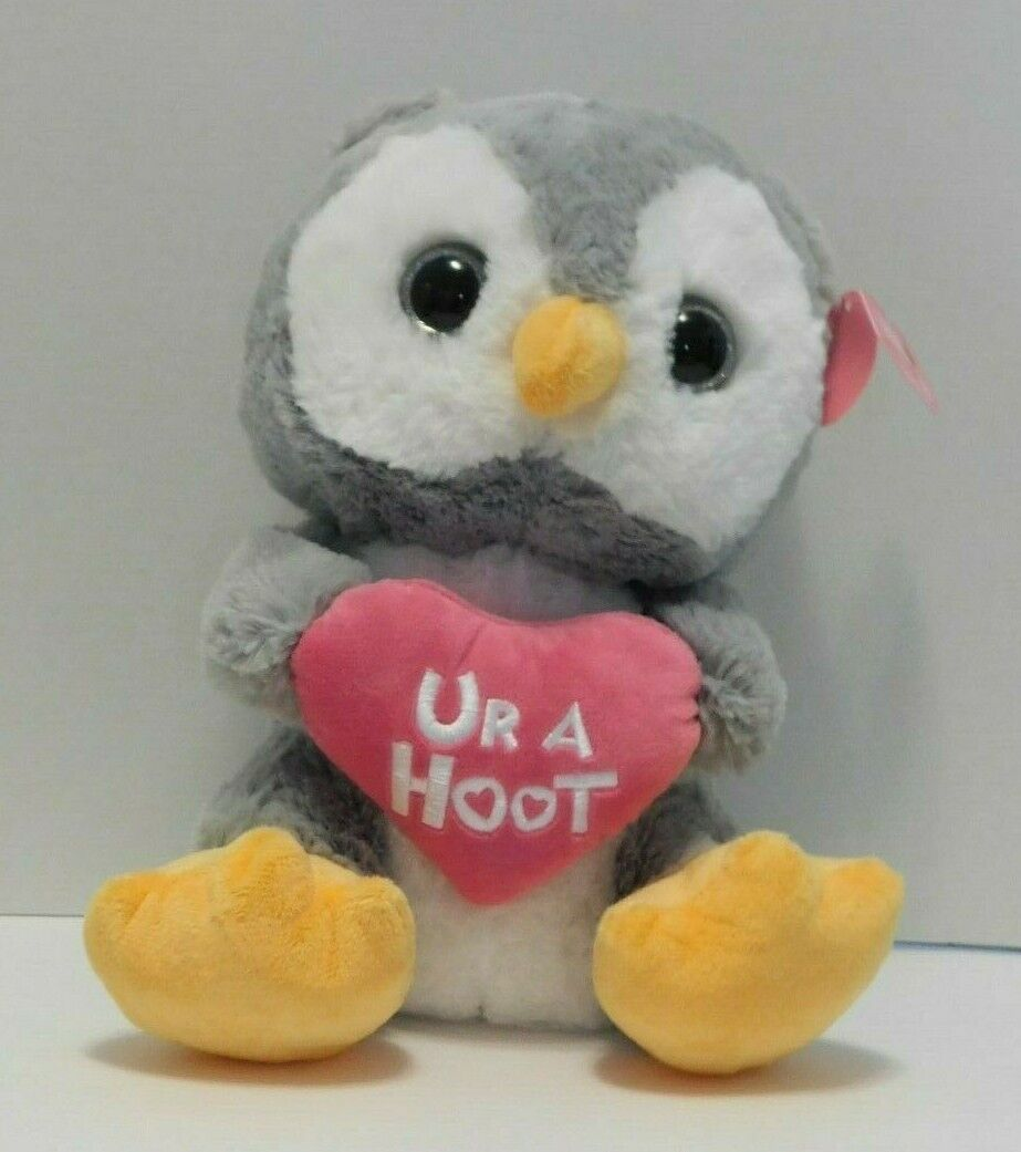 "Owl Plush Stuffed Animal "" Ur A Hoot """