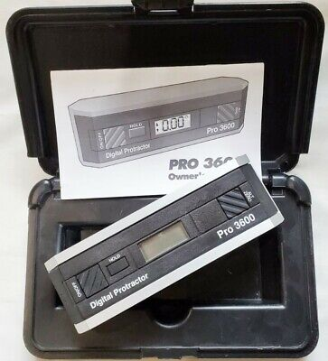 Digital Protractor Pro 3600 Level Inclinometer