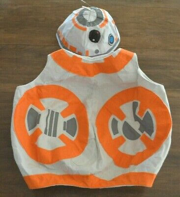 Pottery Barn Kids Star Wars BB-8 Droid Costume 4-6 Years Rubie's Halloween