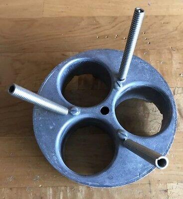 All Metal Northwestern Super 60 Gumball Machine Toy Or Ball Wheel - Aa Pn95