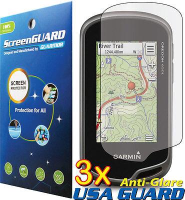 3X Anti Glare Matte Lcd Screen Protector For Garmin Oregon 600 600T 650 650T Gps