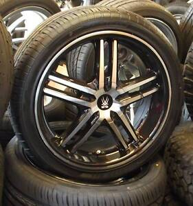 """18"""" BMS Kontra Wheels and Tyres To Suit Falcon, Commodore & BMW Toowoomba Toowoomba City Preview"""