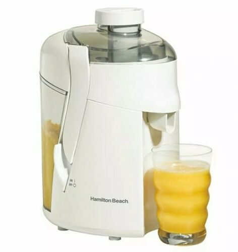 Hamilton Beach HealthSmart Juice Extractor White Model 67800