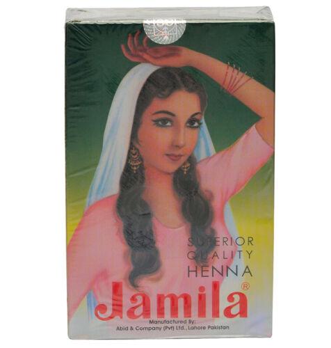 2020 CROP Jamila Henna Powder Mehndi Mehendi (BAQ) Body Art Quality & For Hair