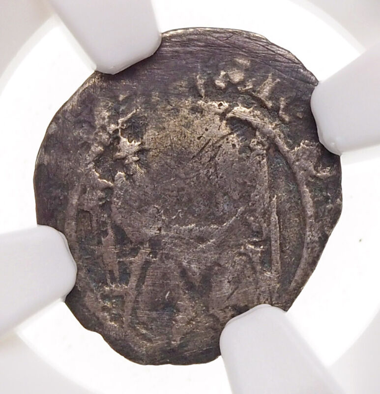 ENGLAND. Henry VIII. 1509-26. Silver Sovereign Penny, S-2352, Wolsey, NGC VG