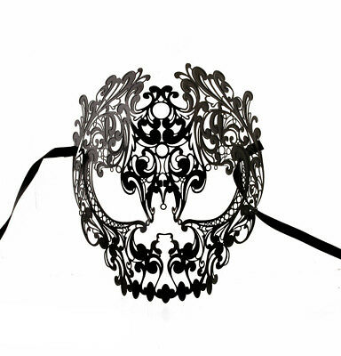 Mask from Venice Skull Lace of Metal 1162 V59