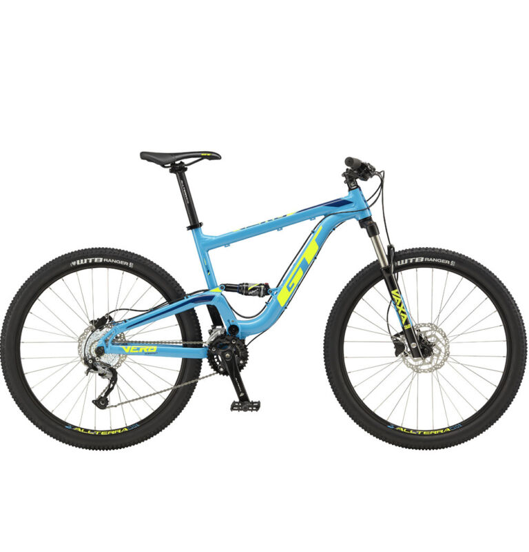 Gt Verb Comp 27.5 2018 Full Suspension  Mtb Shimano Mountain Bikes Size Xs Blue