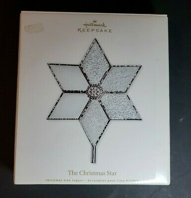 Hallmark Keepsake The Christmas Star Tree Topper 2011 EUC