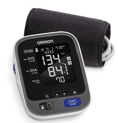 Omron 10 SERIES Upper Arm Blood Pressure Monitor ** NEW ** BATTERIES INCLUDED **