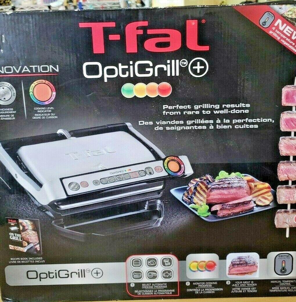T-FAL OptiGrill Model 8351s1 Indoor Meat Grill