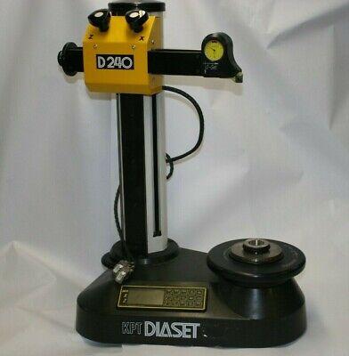 Kpt Diaset D240 Workshop Precision Tool Presetter