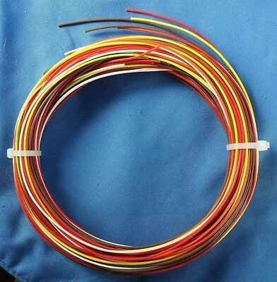 K1 Silver Teflon Ftpe Wire Kit Of Various Colors - 100 Ft Of Awg 26 24 22