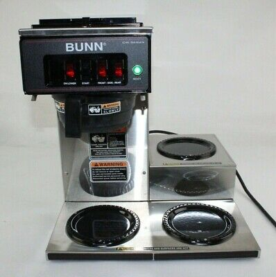 Bunn-o-matic 12950.0112 Cwt15-3 Automatic Coffee Brewer 3 Warmers Plastic Funnel