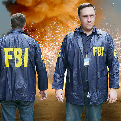 FBI Special Agent Jacket + ID Lanyard - NEW, Easy Fancy Dress - Go, Go, Go! - Special Agent Costume