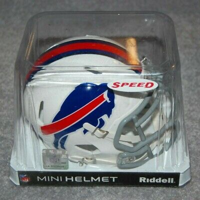 BUFFALO BILLS NFL FOOTBALL SPORTS REPLICA SPEED MINI HELMET Buffalo Bills Mini Replica Football