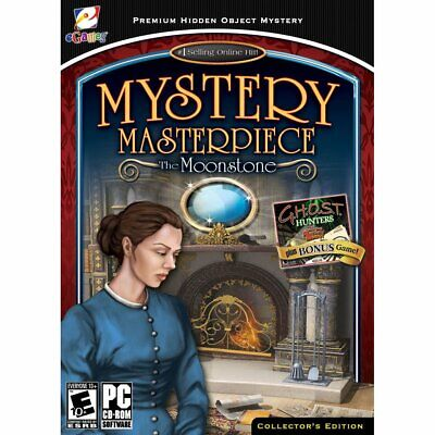 Computer Games - Mystery Masterpiece The Moonstone PC Games Windows 10 8 7 XP Computer seek find