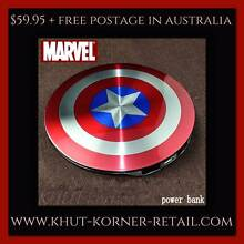 Mobile Power Bank CAPTAIN AMERICA Ormeau Gold Coast North Preview