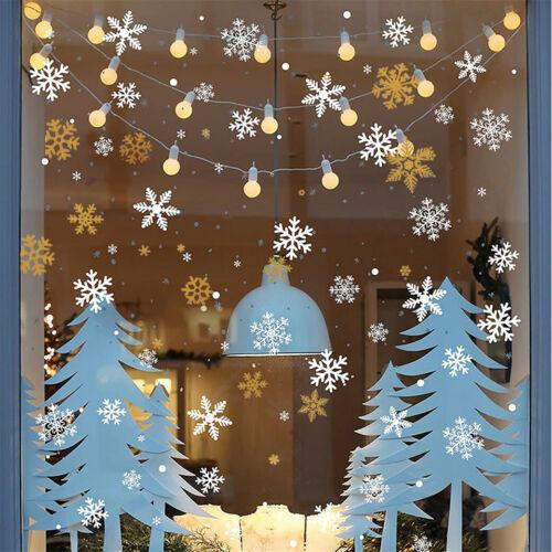 Home Decoration - Christmas Window Glass Sticker Decal Mural Home Decoration Wall Stickers Wall