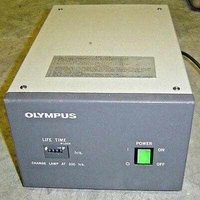 Olympus Optical Bh2-rfl-t2 Power Supply For Microscope Light