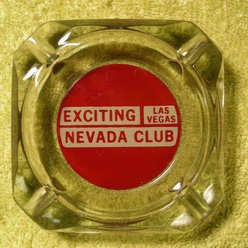 Vintage Exciting Nevada Club Casino Ashtray Las Vegas Nevada