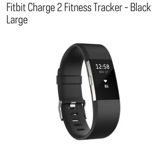 Fitbit Charge 2 - Black Large