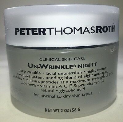 Peter Thomas Roth Un Wrinkle Night For Normal To Dry Skin 2 0Oz Sealed