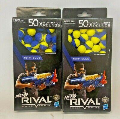 Nerf Rival Precision Battling Team Blue 100x High Impact Rounds Balls
