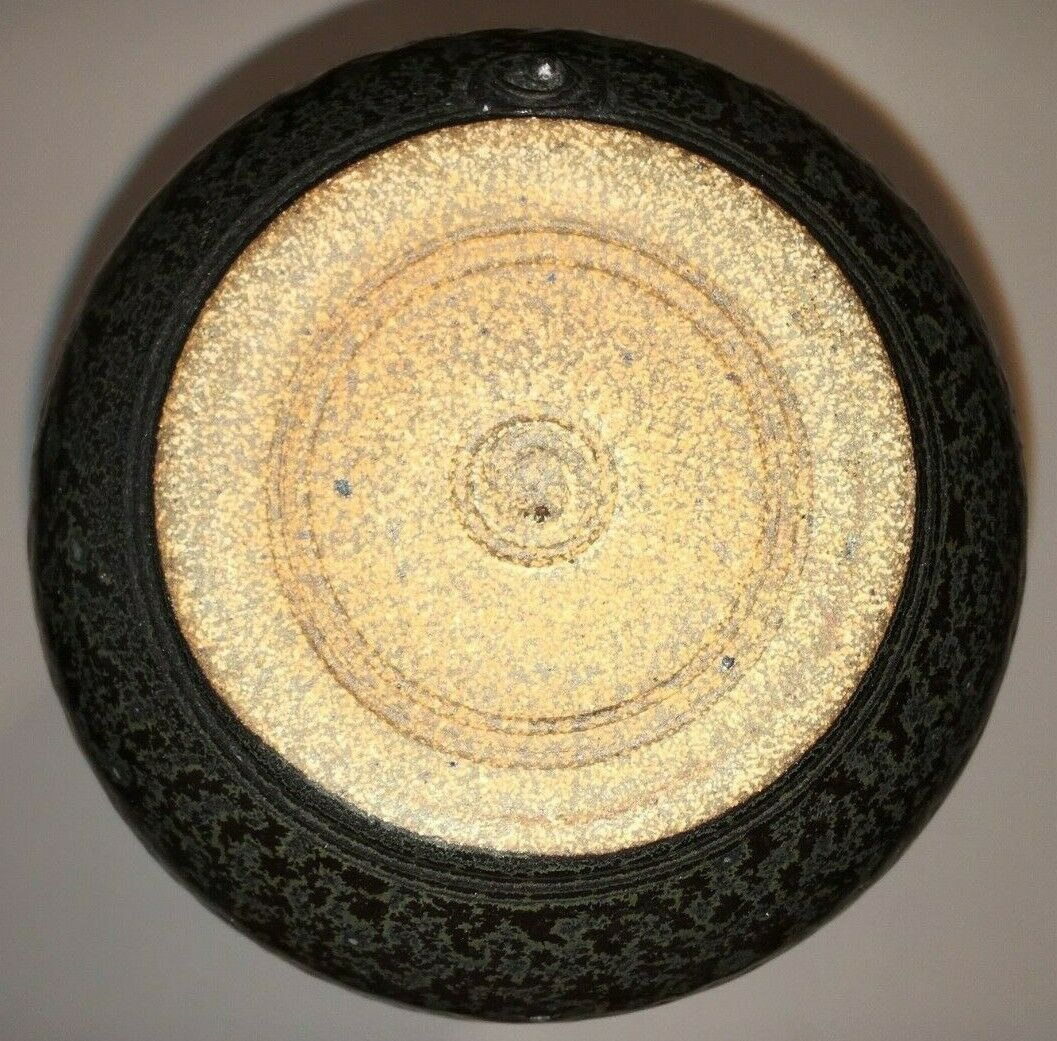 Reid Ozaki Black And Opaque Glaze Matcha Chawan/Teabowl - $150.00