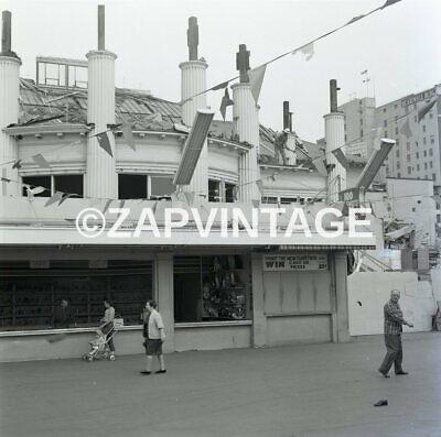 Vintage 1965 The Pike Long Beach Amusement Park Tearing Down Bathhouse (The Pike Long Beach)