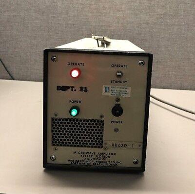 Keltec Xr620-1 1 Watt X-band Traveling Wave Tube Amplifier