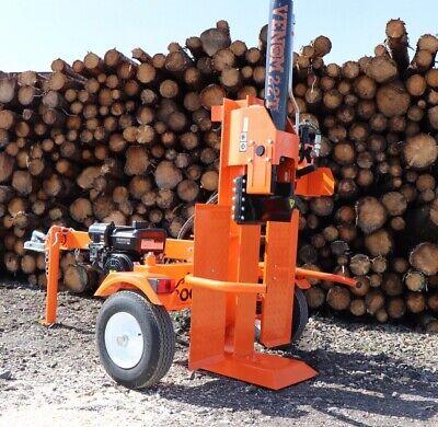 01e51fb0613e 2019 22ton VENOM wood log Splitter Petrol Hydraulic Road Towable BS Vanguard