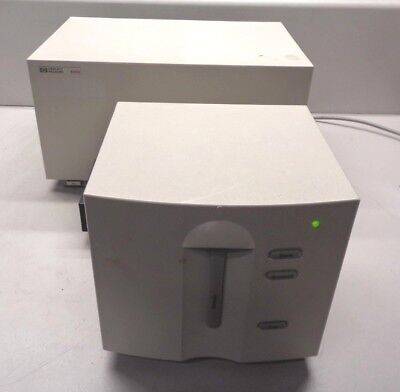 Hp 8453 G1103a Uv-visible Spectrophotometer W J4106a Lan Card